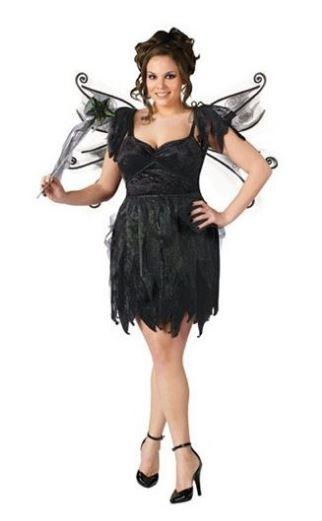 Образ феи на Хэллоуин