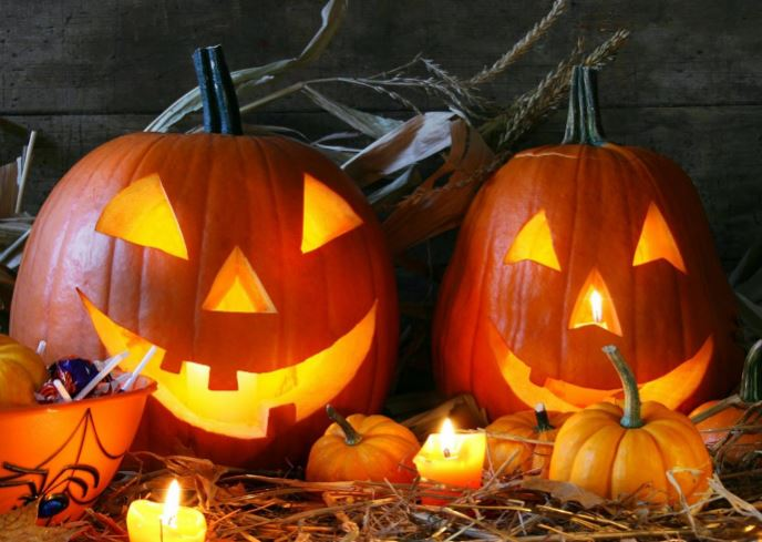 Светильник Джека на Хэллоуин