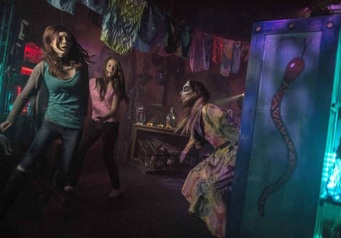 Haunted attractions - Аттракционы, населённые призраками