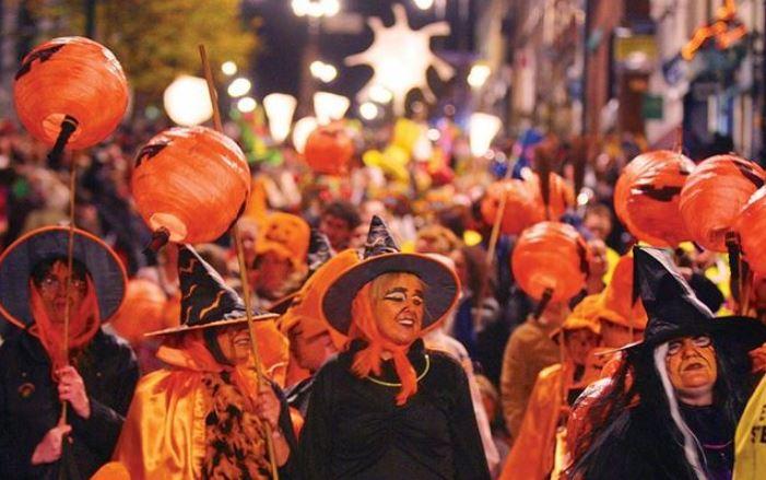 Празднование Хэллоуина в Ирландии