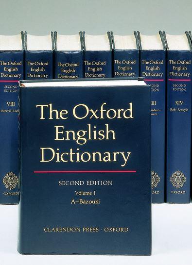 Oxford English Dictionary - Оксфордский словарь английского языка