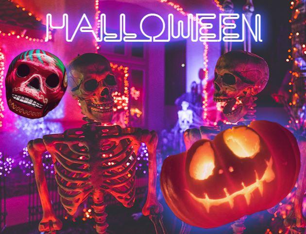 Мероприятие на Хэллоуин в заведении