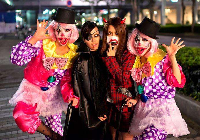 Маскарадные костюмы на Хэллоуин