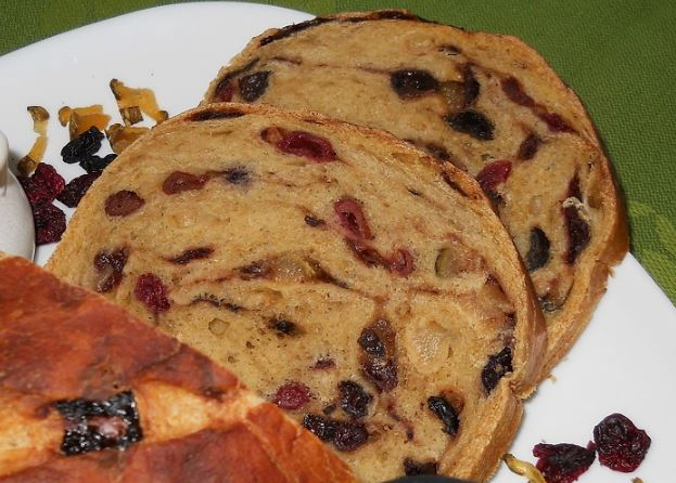 Бармбрэк - традиционный хлеб на Хэллоуин