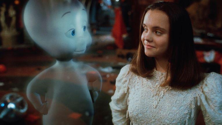 "Кадр из фильма ""Каспер"" 1995 года"
