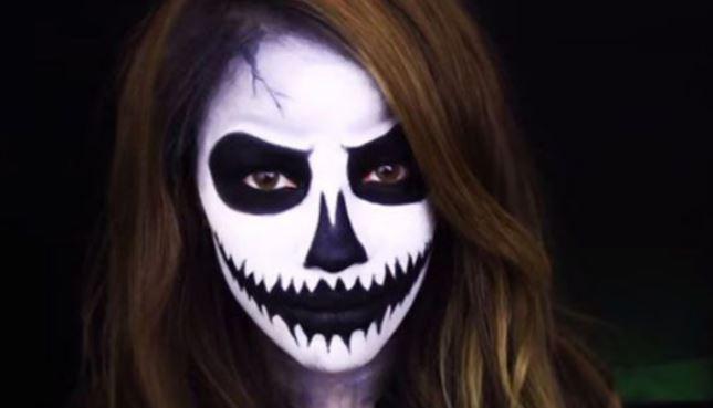 Устрашающий грим на Хэллоуин