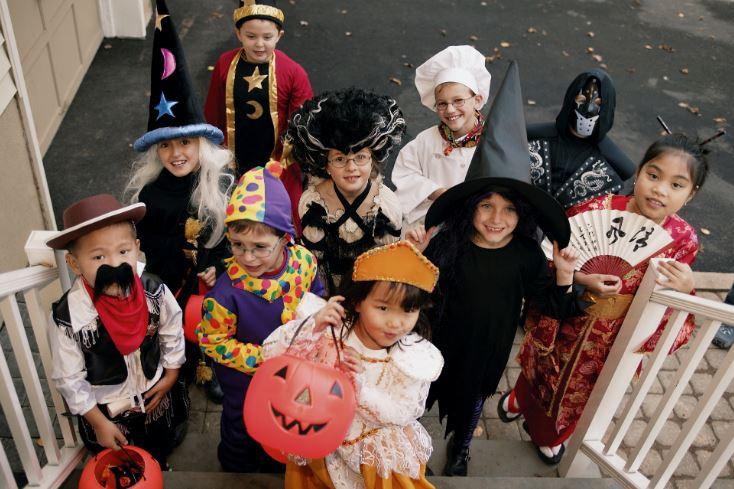 Традиция выпрашивания сладостей на Хэллоуин