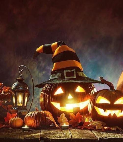 Готовый светильник Джека на Хэллоуин