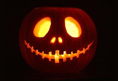 Фонарь из тыквы - атрибут Хэллоуина