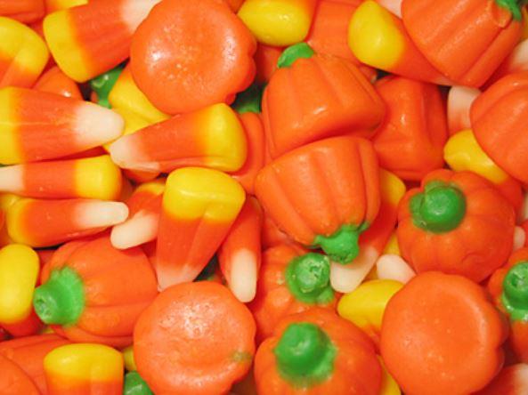 Кенди корн и кенди пампкин - традиционные сладости на Хэллоуин