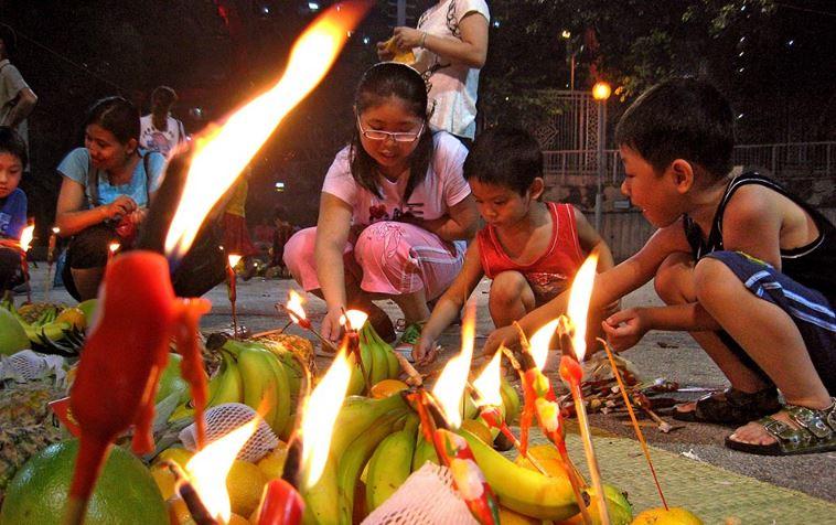 Teng Chieh - День поминания предков в Китае