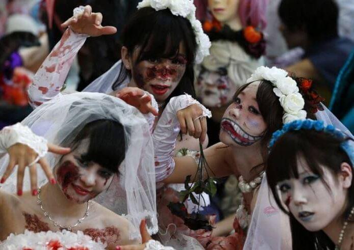 Празднование Хэллоуина в Японии