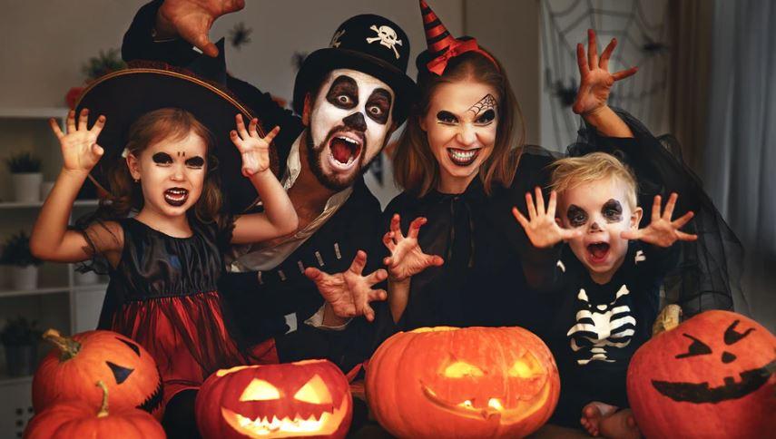 Хэллоуин - праздник для всей мемьи