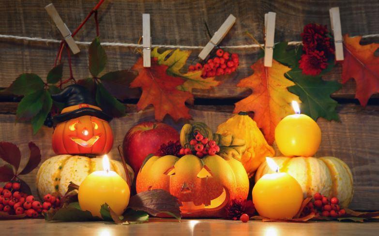 Хэллоуин - осенний праздник