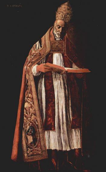 Глава церкви - Папа Римский Григорий I