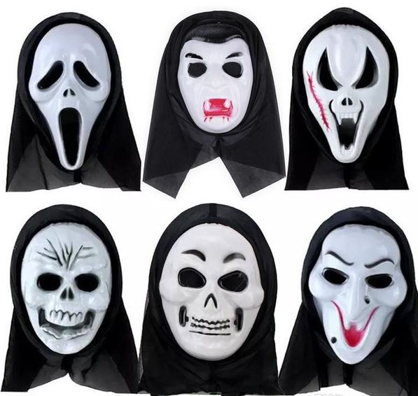 Современные маски на Хэллоуин