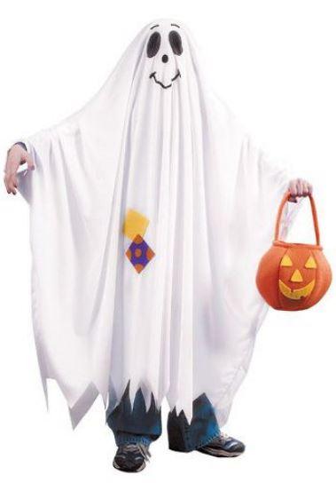 Образ привидение на Хэллоуин