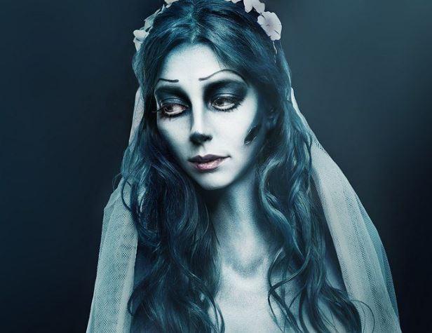 """Образ """"Труп невесты"""" на Хэллоуин"""