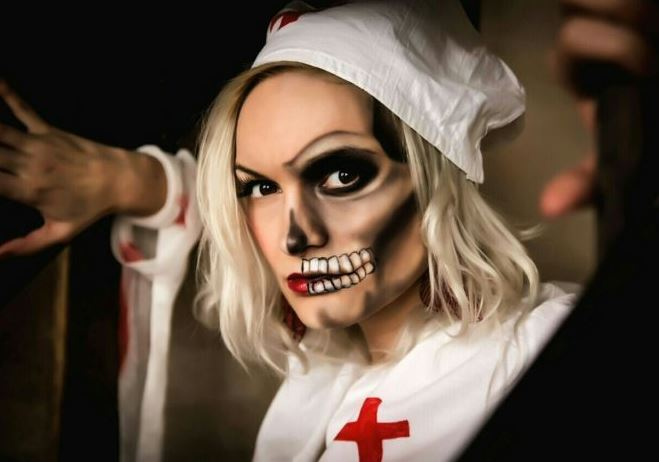 Образ медсестры на Хэллоуин