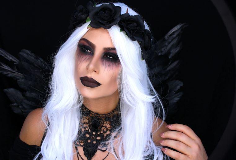 Образ ангела на Хэллоуин