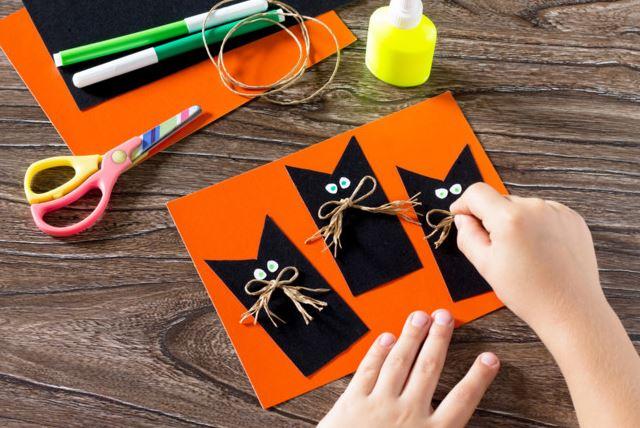 Детские поделки на Хэллоуин