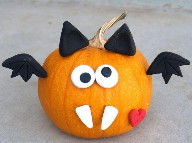 Поделка из тыквы на Хэллоуин