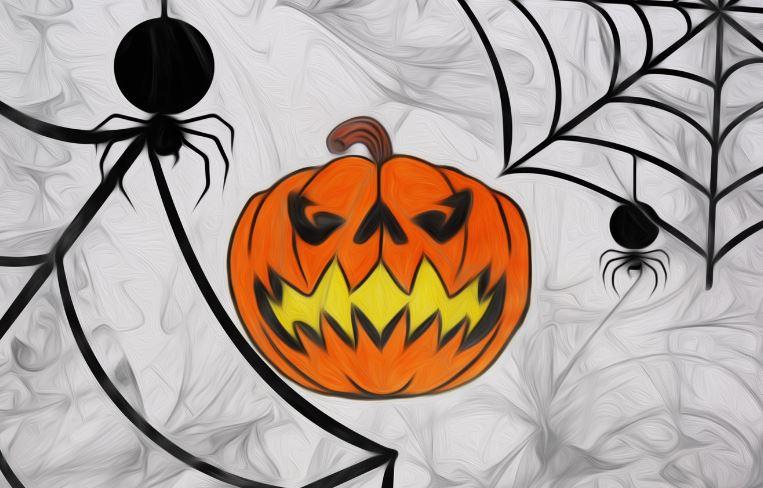 Символ Хэллоуина - фонарь из тыквы