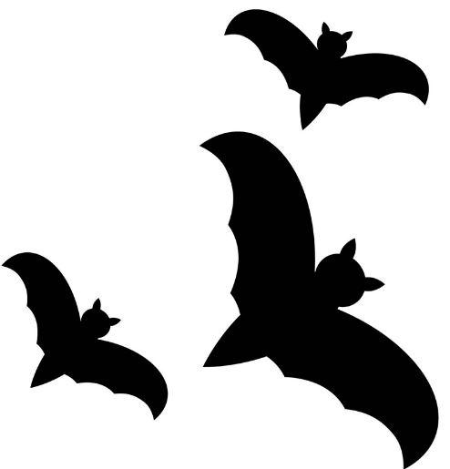Рисунки летучих мышей на Хэллоуин